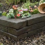Raised Beds constructed from Reclaimed Railway Sleepers.