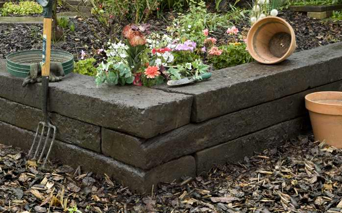 How to make a planter out of sleepers