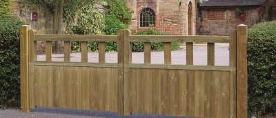 New: Grange Fencing Driveway Gates