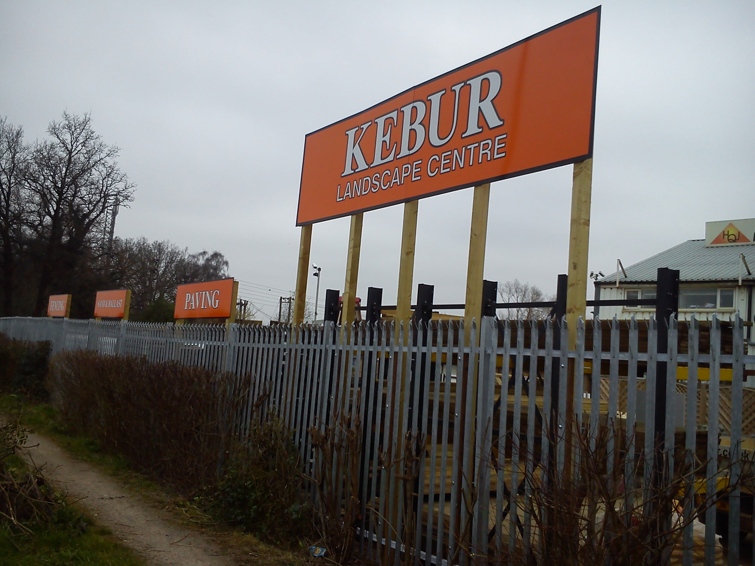 New Kebur Signage