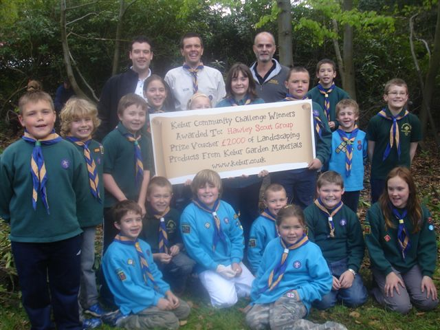 Hawley Scout Group, 2009 Community Challenge Winners