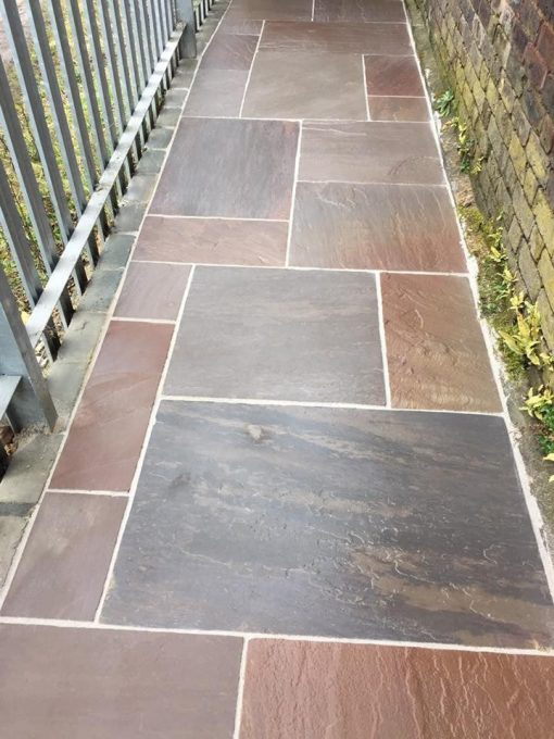 Natural Sandstone Trade Pack in Autumn Brown