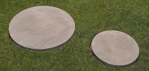 Regency Ripple Stepping Stones Slate