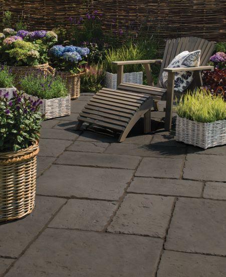bradstone old town paving kebur. Black Bedroom Furniture Sets. Home Design Ideas