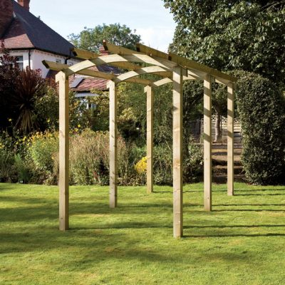 The Bowed Walkway Pergola