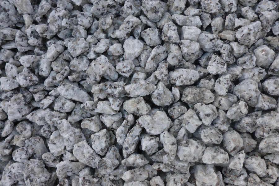 ... / Decorative Stone / Decorative Aggregates / Black and White Granite