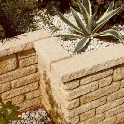 Walling blocks, cladding & coping