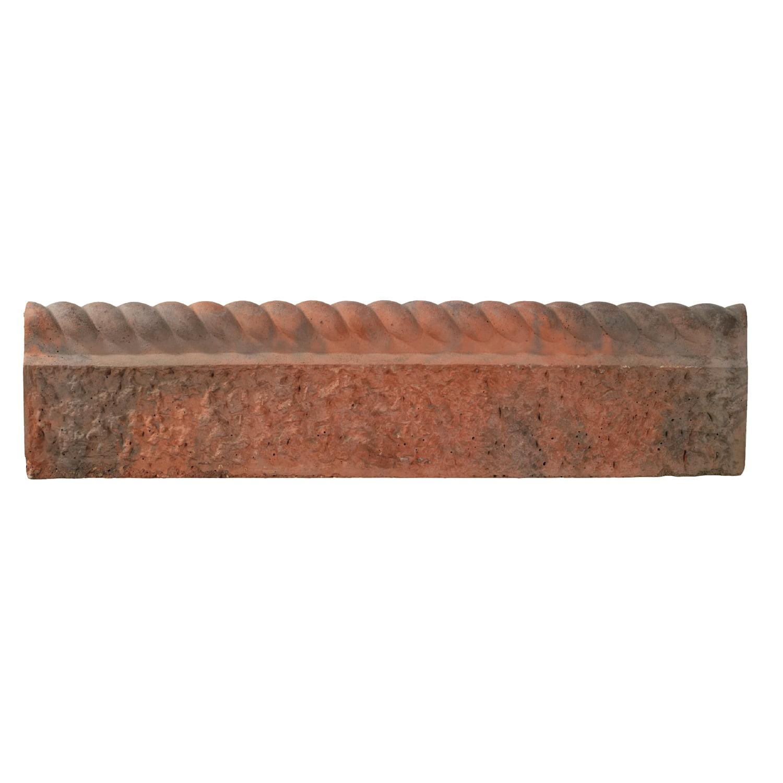 Bradstone rustic rope top edging kebur - Using stone in rustic gardens elegance and drama ...