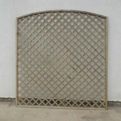 Convex Framed Lattice Trellis