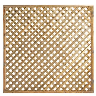 Elite Square Lattice Trellis 1.8m x 1.8m