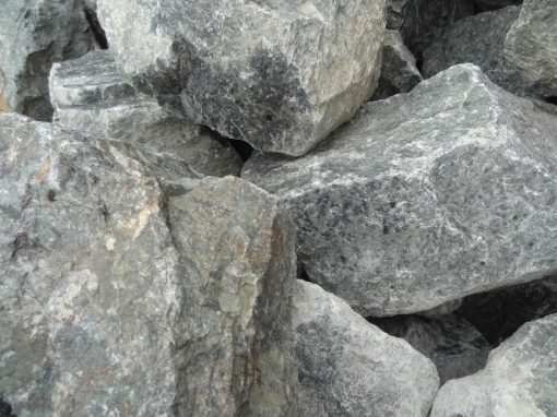 Green Granite Rockery