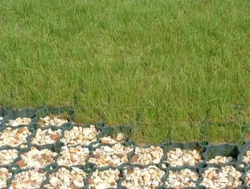 Ground Guard Grass & Gravel Installation