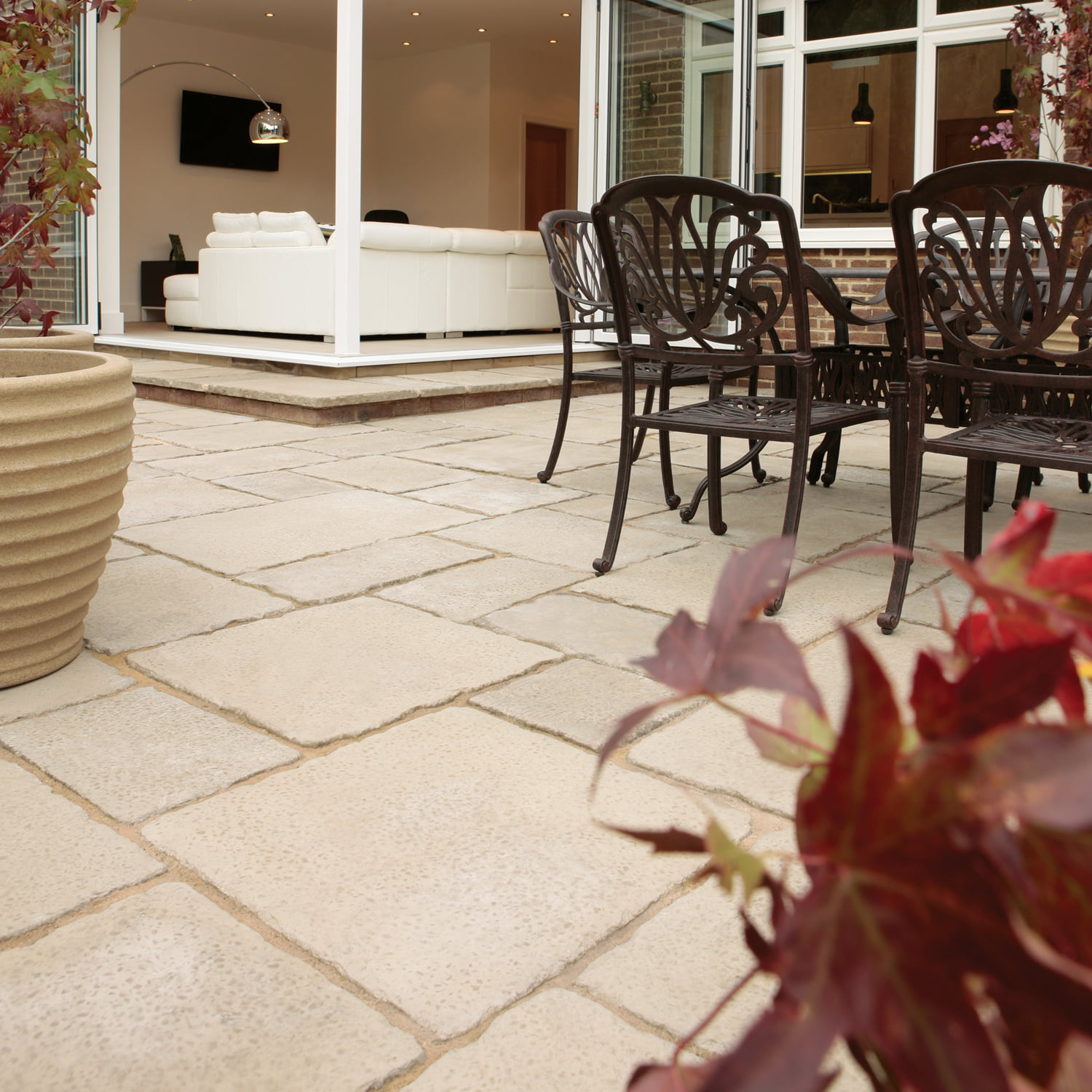 Bradstone old town paving kebur for Porch tiles designs for houses