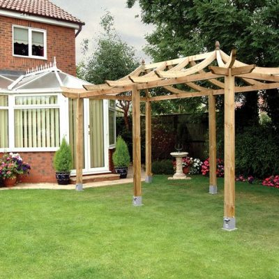 The Extended Dragon Pergola