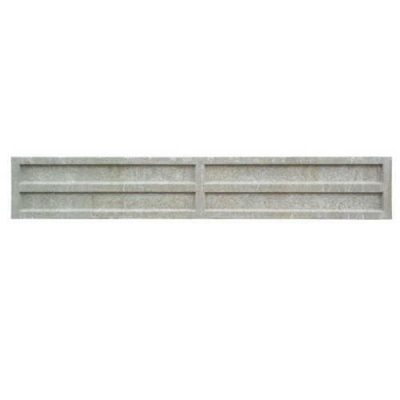 Recessed Concrete Gravel Board 305mm