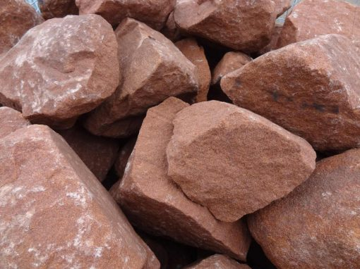 Red Sandstone Rockery