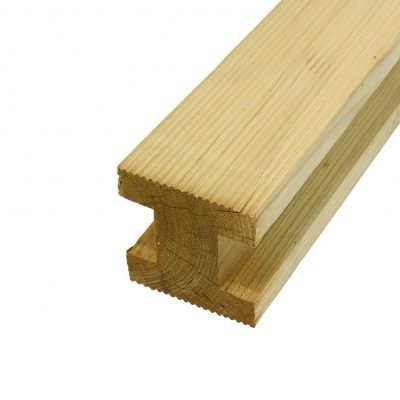 Timber H Post