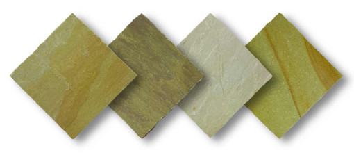 Natural Sandstone Autumn Green