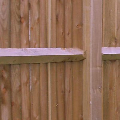 Feather Edge & Arris Rail Fencing