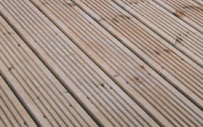 Looking after garden decking
