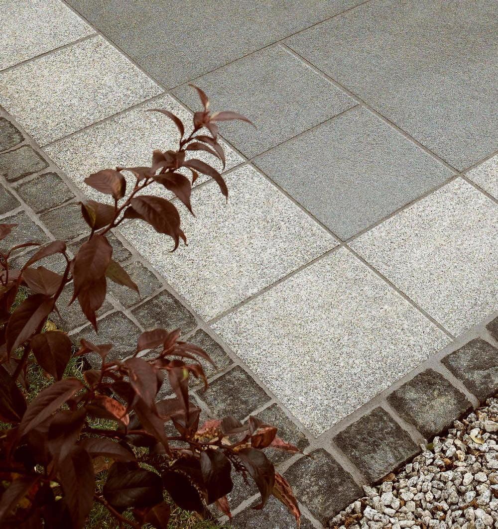 Kebur Black Limestone Trade Pack patio