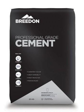 Professional grade Breedon cement