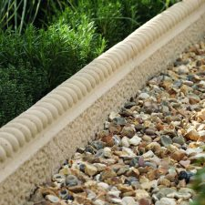 Concrete and stone edging