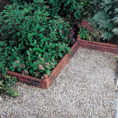 Bradstone Rustic Rope Top Edging Antique Red