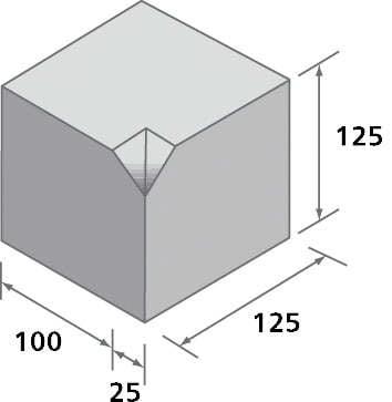 Small Kerb Internal Corner (SK/B)