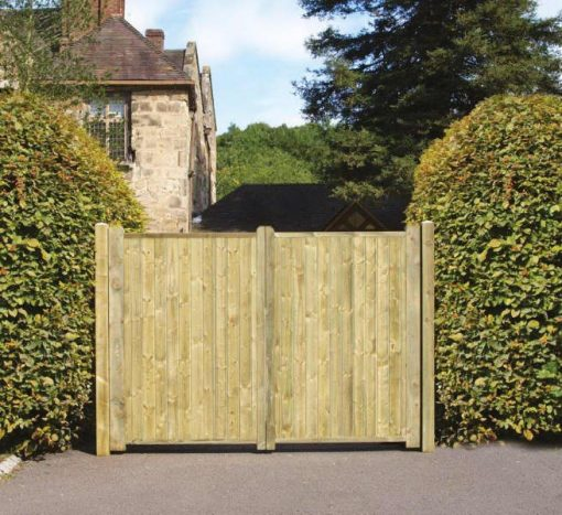 Fortress Tall Double Gate