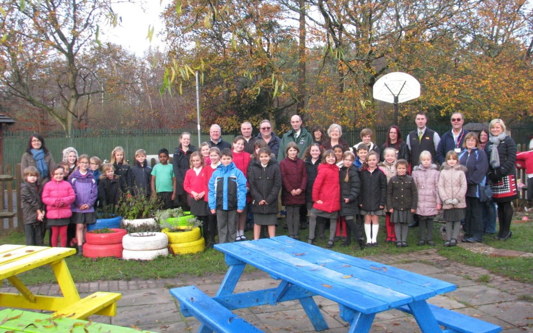 New Scotland Hill School Sensory Garden