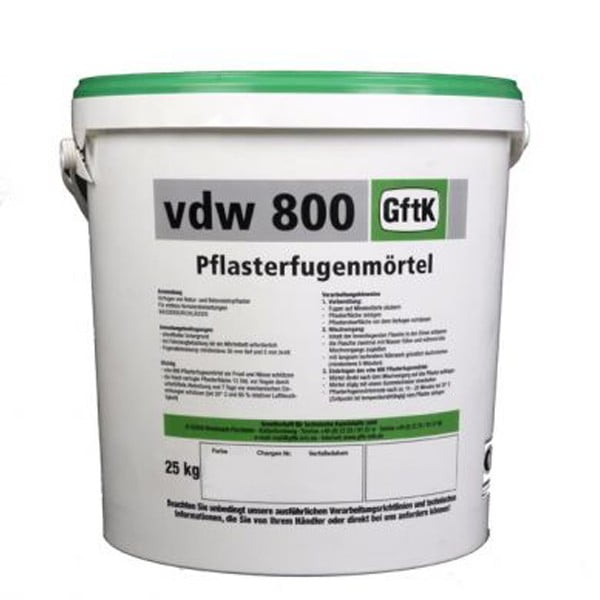 GftK vdw 800 Epoxy Paving Joint Mortar