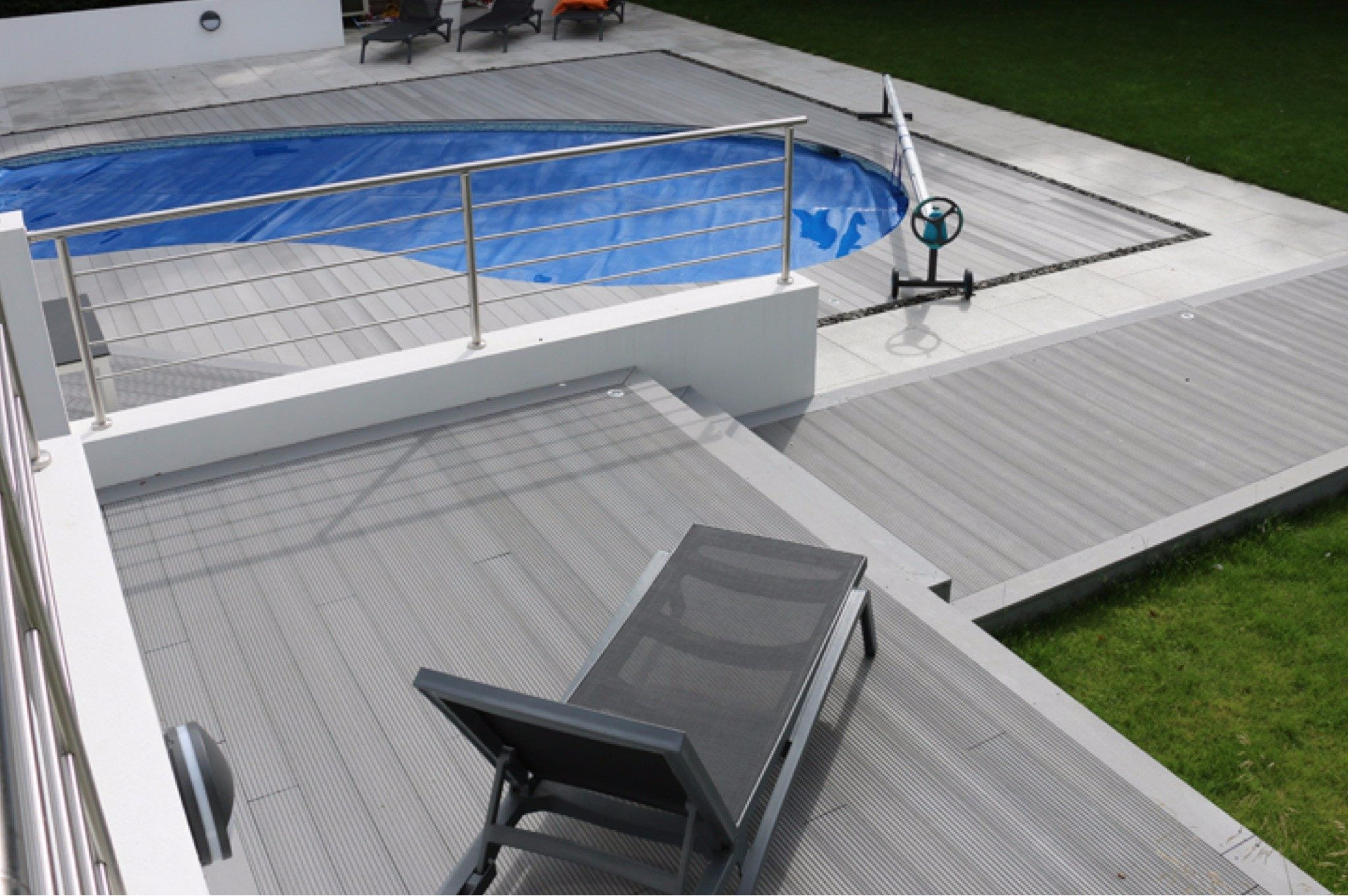 Saige Composite Decking Grey