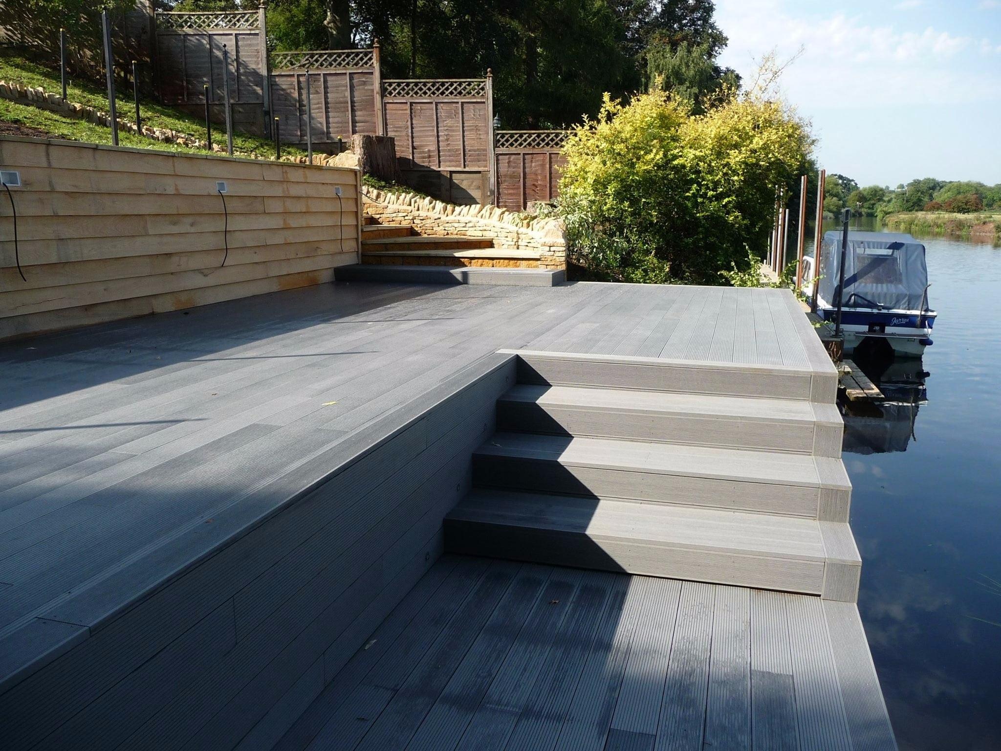 SAiGE Grey Composite Decking