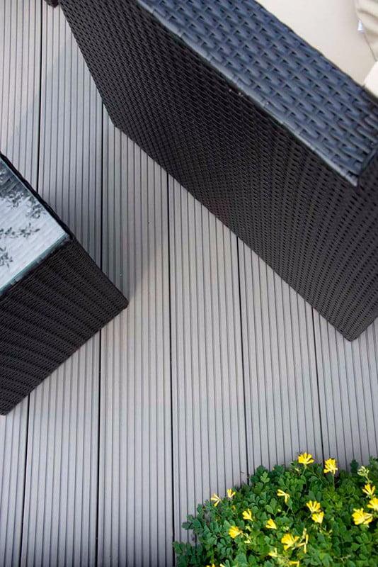 Composite decking kebur for Grey composite decking