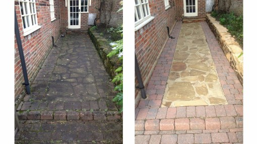 Yorkstone Crazy Paving and Walling and Block Paving