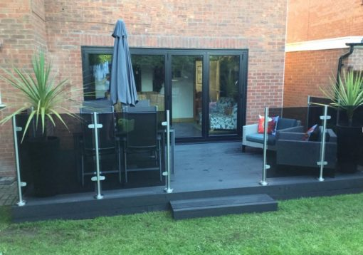 Charcoal Composite Decking
