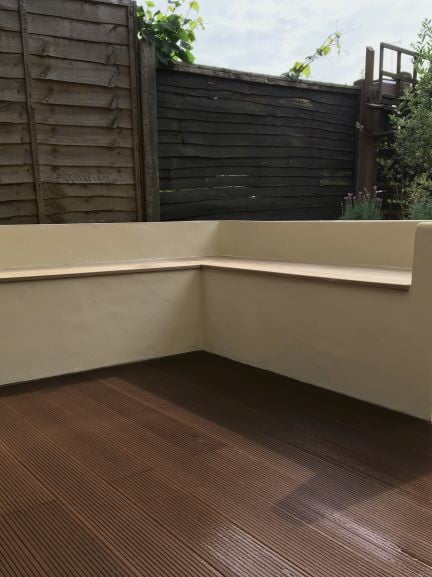 Coffee composite decking
