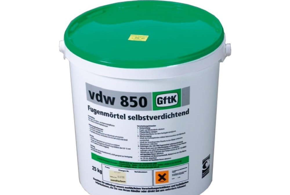 GftK vdw 850 Epoxy Paving Joint Mortar