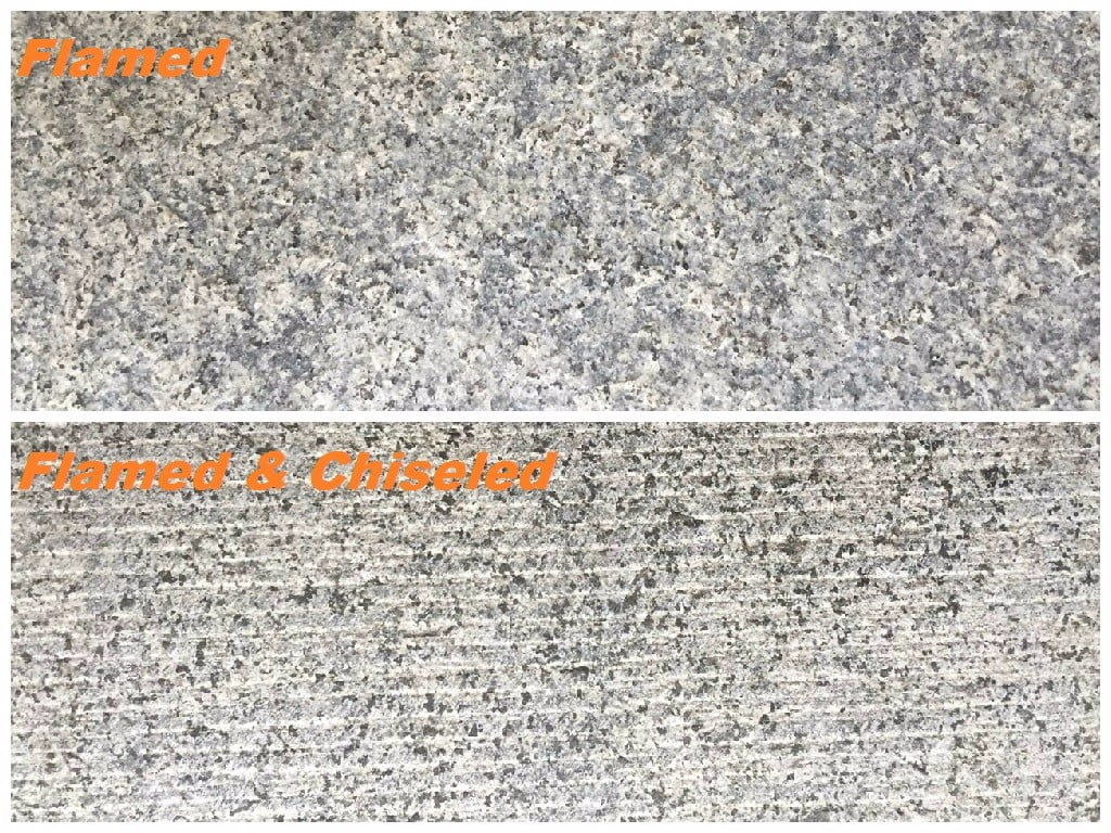 Mid Grey Granite - The Chiseled Effect