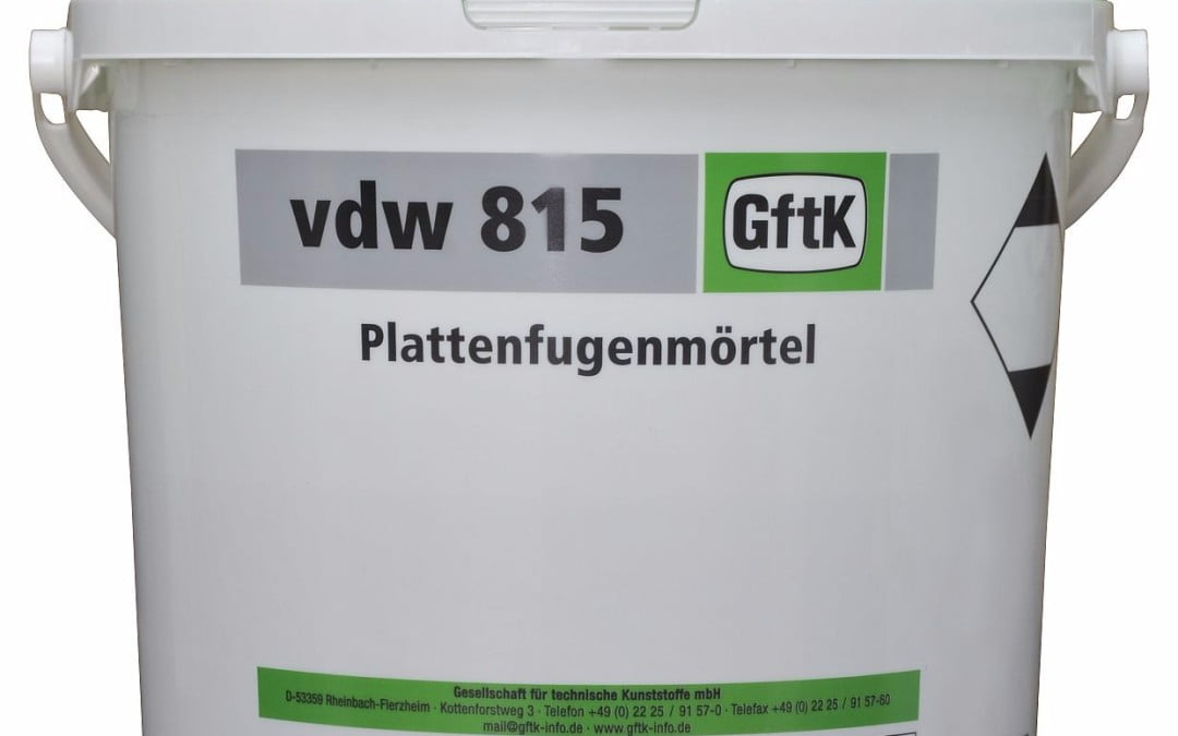 GftK vdw 815 Epoxy Paving Joint Mortar