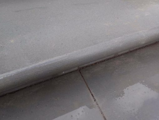 Sawn Silver Grey Steps (wet)