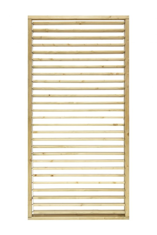 Adjustable Slat Garden Screen