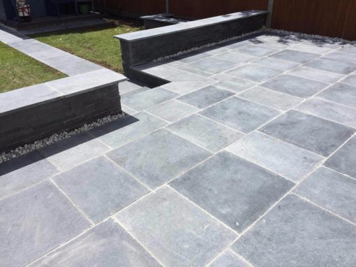 Asian Blue Limestone (installed by Kebur Landscape Division)