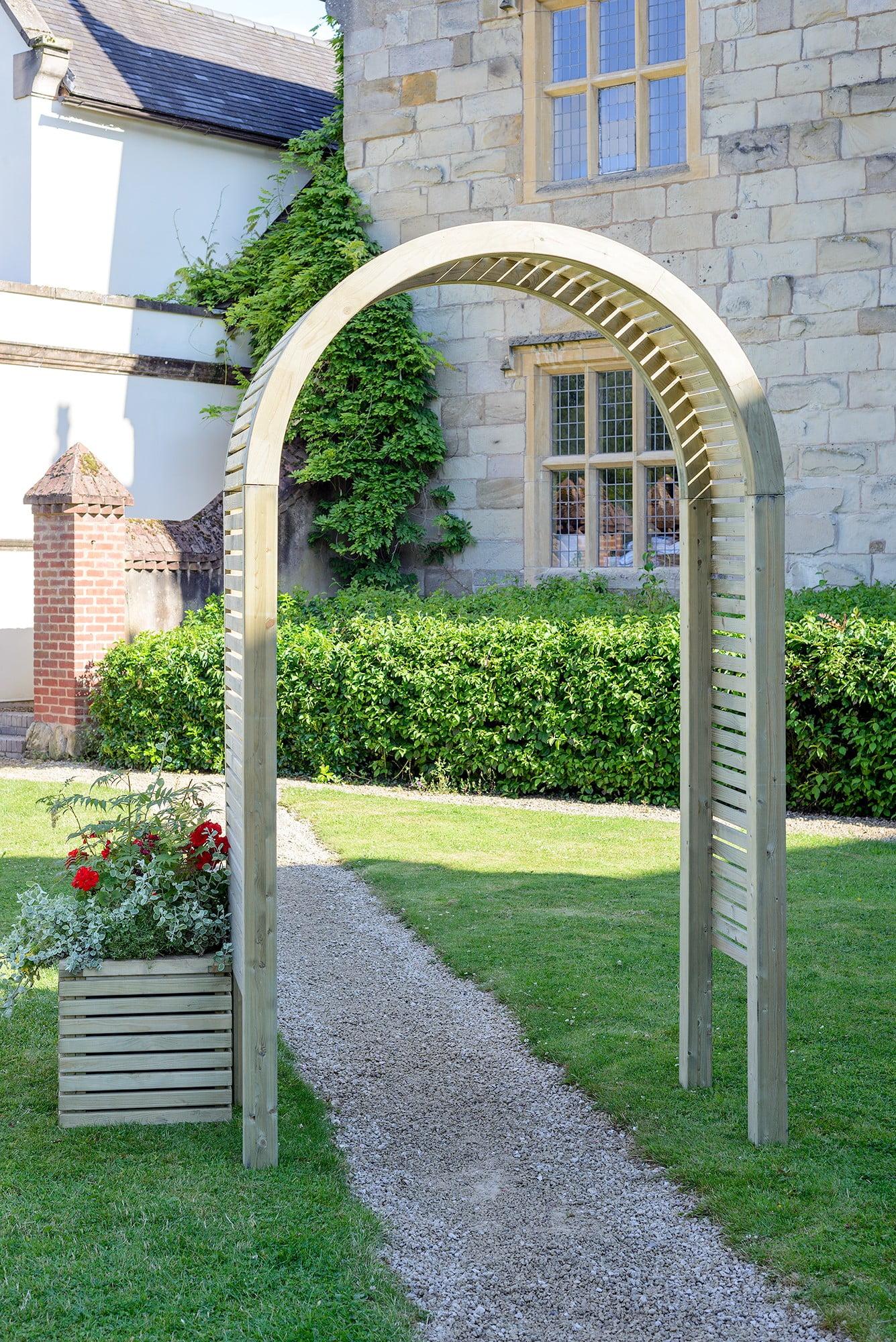 Contemporary Garden Arch