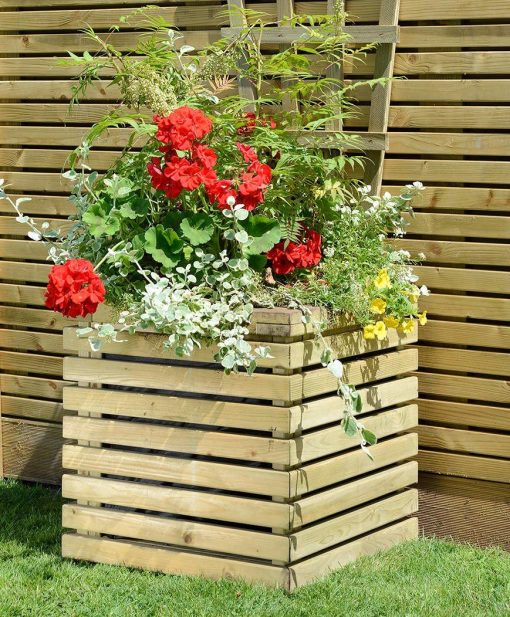 Square Contemporary Planter