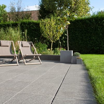 Black Basalt Paving