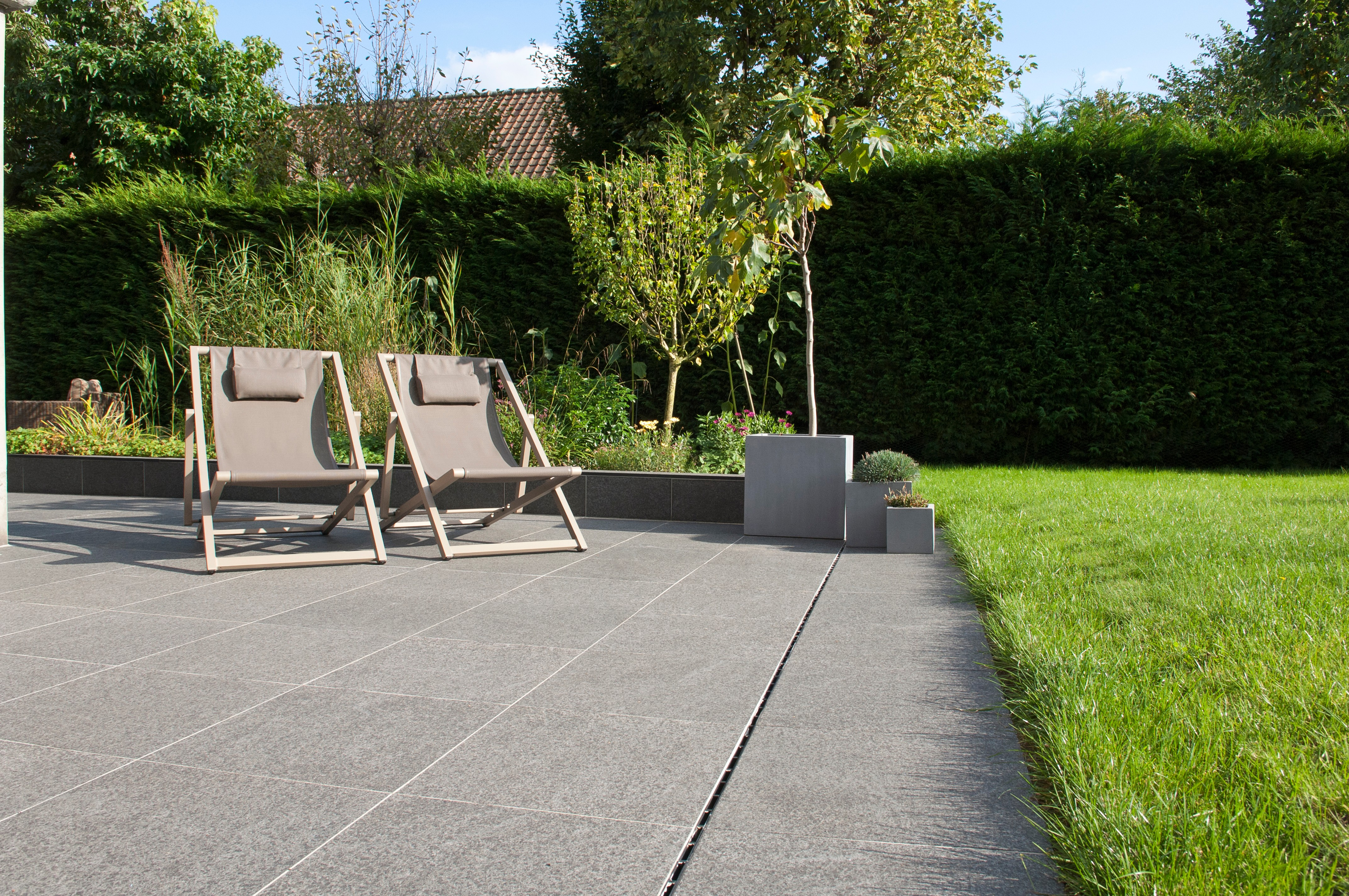 Kebur Contempo Black Basalt Paving Available In Store And