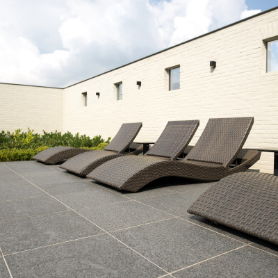 Kebur Contempo Black Basalt Paving