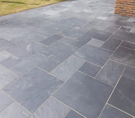 Blue-Black Slate (installed by Kebur Landscape Division)